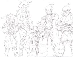 MKP Dragons Council Human Form by YogurthFrost