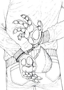 Issue 2 Cover Linework by Benjamin-the-Fox