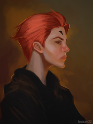 Moira Portrait by Lousan22