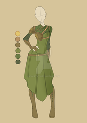 :: Commission Mar 02: Outfit Design :: by VioletKy