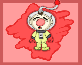 Olimar. (Nintendo.) by 21WolfieProductions