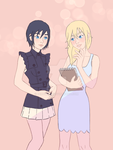 Namine and Xion by Cerumoce