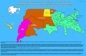 SW: Territorial Evolution of the United States 8 by ThanyTony