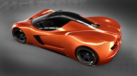 McLaren LM5 rear view by lockanload