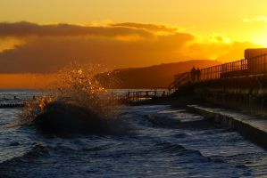 Overstrand Sunrise by Rentapest