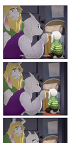 [UnderTale] Best Friend Coming Into Your Life by benteja