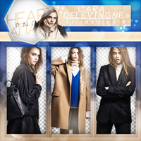 +Cara Delevingne Pack Png by Heart-Attack-Png