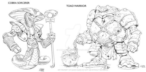 Beast Warriors concepts by GuidoGuidi