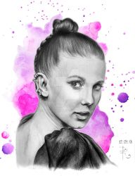 Millie Bobby Brown by kathrinity