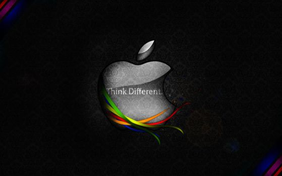 Apple Wallpaper by Mutevict1m