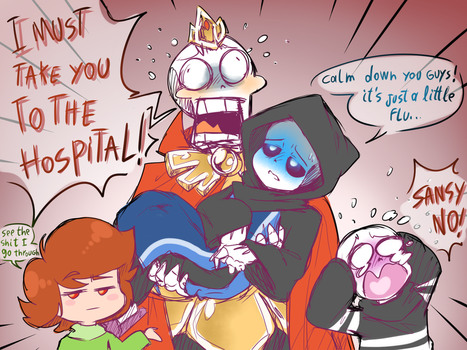 Overdramatic Family by thegreatrouge