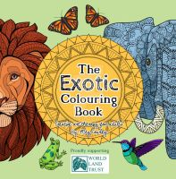 The Exotic Colouring Book (Cover) by megcowley