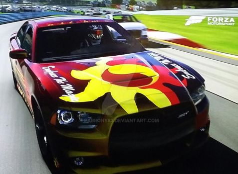 2012 Sunset Shimmer Charger SRT by pabrony83
