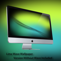 Lime Wave Wallpaper by Vincee095