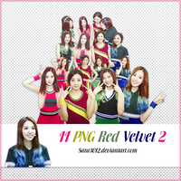 PACK PNG RED VELVET 2 by sara3012