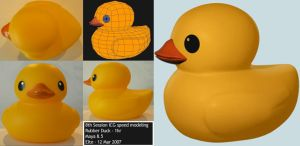 Rubber Duck by leonuts