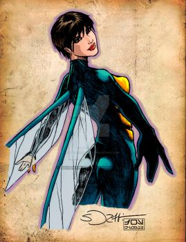 DAILY ART POST - AVENGERS MONTH - WASP