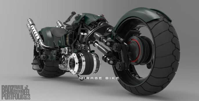 Mirage Bike 2 (WIP) by badzter09
