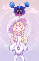 Lillie And Nebby by TeaNotAvailable