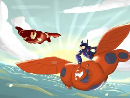 Big Hero 6 crossover by Fanbe2