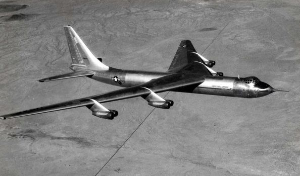 Convair YB-60 by GeneralTate