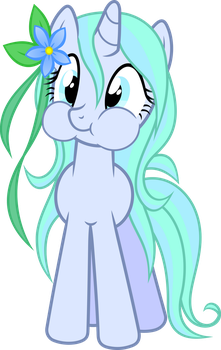 Ocean Blossom Holding Her Breath by PsychicWalnut