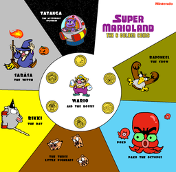 Wario and the Zone Bosses by Grimklok