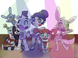 FNaF Sister Location by BubbleGummy4