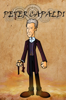 Peter Capaldi by CPD-91