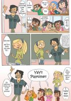 Total drama kids comic pag 4 by Kikaigaku