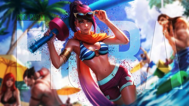 Pool Party Fiora by DimisionART