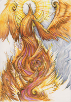 the plural of phoenix by Rethandris