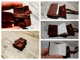 Tiny Leather Journal by JamesDarrow