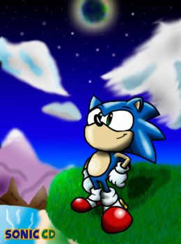 Belive in yourself - Sonic CD by nintendobros64