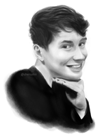 Dan Howell With Painted Nails by Sherushii