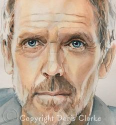 Hugh Laurie (Close-up) by Harmony1965