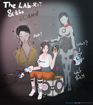 The lab-rat and the potato by interjectionyeah