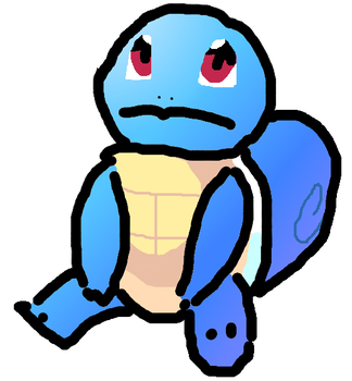 Squirtle by kawstussyx-x