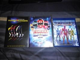 My Power Rangers Movie Collection by Prentis-65