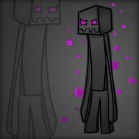 Minecraft Mob Spotlight: Enderman by TruCorefire