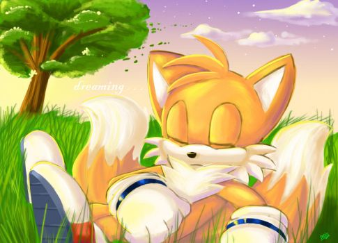 Tails: Dreaming by chickenoverlord