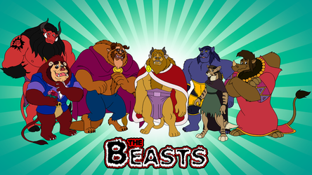 The Beasts Wallaper v2 by RetroUniverseArt