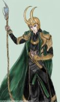 Another Loki by MariaHasAPaintBrush