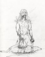 Sabin and his bloody meal by arania