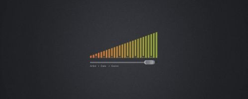 Volume Slider Free PSD by ahmadhania