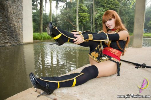 Kasumi Dead or Alive by JuTsukinoOfficial