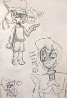 .:Smol Doodle Page (Kinda requests?):. by SleepyStaceyArt