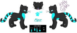 Piper Refrence Sheet (for  tranquiIIity) by Kitty-Loves-All