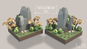 Particle Nature [Lowpoly] by Mezaka