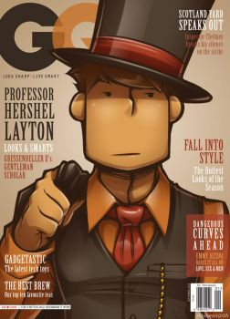 Gentleman Quarterly by zillabean